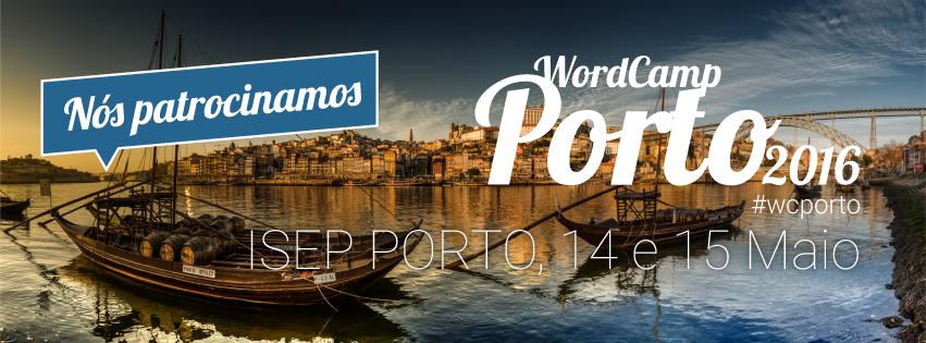 WordCamp Porto 2016 - Eu Patrocino